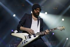 Guitarist Sascha Eigner Royalty Free Stock Images