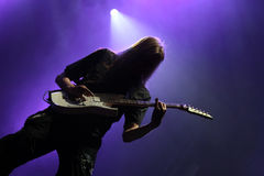 Guitarist on the stage Royalty Free Stock Photo