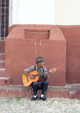Guitarist in Trinidad, Cuba Royalty Free Stock Image