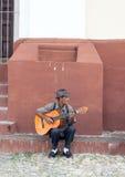 Guitarist in Trinidad, Cuba Royalty Free Stock Image