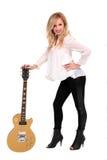 Guitarist Stock Image