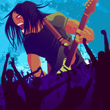 Guitariste 2 Images stock