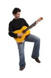 Guitariste Image stock