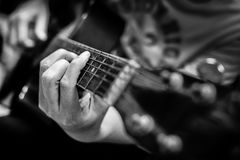 Guitariste Photo stock