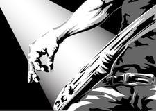 Guitariste Images libres de droits