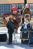 Guitariste espagnol Photo libre de droits