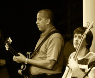 guitariste Melvin Taylor  Photographie stock