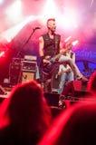 Guitariste punk Photos libres de droits