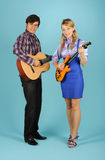 Guitarists Stock Images