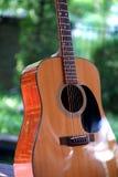Guitarlist framdel arkivbilder