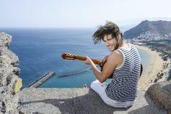 Guitarplayer Immagini Stock Libere da Diritti