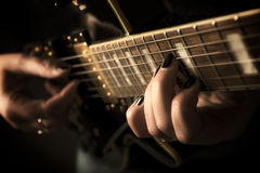 Guitarplayer Images stock