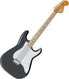 Guitarra 03 Foto de Stock Royalty Free