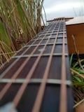 Guitarra foto de stock