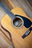 A guitarra Foto de Stock