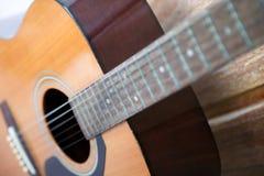 A guitarra Foto de Stock Royalty Free