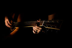 Guitarra Fotografia de Stock Royalty Free