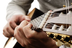 Guitarra 4 Imagem de Stock Royalty Free