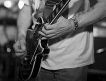 Guitarra 01 Foto de Stock