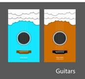 Guitarra 1 Imagens de Stock Royalty Free