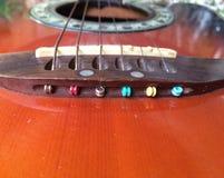 A guitarra Imagem de Stock Royalty Free