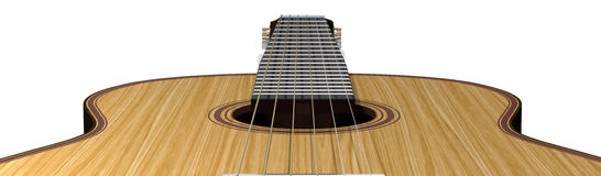 Guitarra acústica Imagens de Stock Royalty Free