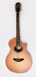 Guitarra acústica Foto de archivo libre de regalías