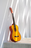 Guitarra acústica Foto de Stock Royalty Free