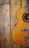 Guitarra acústica 3 Fotos de archivo