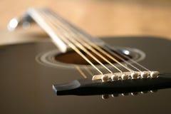 Guitarra acústica Fotografia de Stock Royalty Free