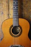 Guitarra acústica 4 Fotos de archivo libres de regalías