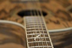 Guitarra acústica 3 Imagem de Stock Royalty Free