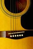 Guitarra acústica 2 Foto de archivo