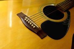 Guitarra acústica 3 Imágenes de archivo libres de regalías