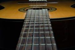Guitarra acústica clássica Fotografia de Stock Royalty Free