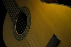 Guitarra acústica clássica Foto de Stock Royalty Free