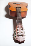 Guitarra acústica clássica imagem de stock