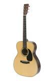 guitarra acústica de la Acero-cadena Foto de archivo libre de regalías