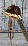 Guitarra acústica del país Foto de archivo libre de regalías