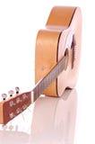 Guitarra acústica Fotografía de archivo
