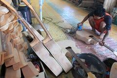 Guitarra acústicas Imagens de Stock
