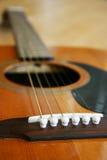 Guitarra acima 3 próximos Imagens de Stock