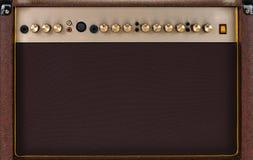 Guitarra amperio Imágenes de archivo libres de regalías