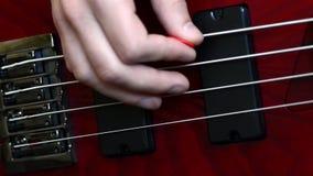 Guitarra baixa vídeos de arquivo