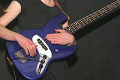 Guitarra baixa Fotos de Stock