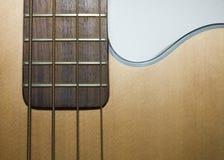 Guitarra baixa acústica foto de stock royalty free