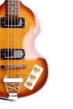 Guitarra baixa elétrica Foto de Stock Royalty Free