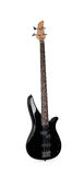 Guitarra baixa preta Imagens de Stock