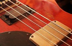 Guitarra baja Imagen de archivo libre de regalías
