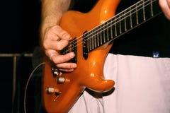 Guitarra baja Foto de archivo libre de regalías